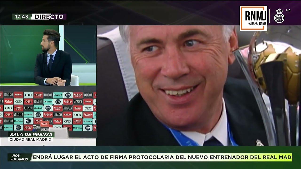 Previa PRESENTACION Carlo ANCELOTTI como nuevo entrenador REAL MADRID 02062021