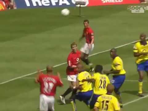 MU - Arsenal. Community Shield -2003 (1-1, pen)