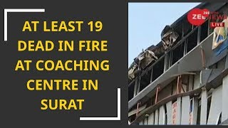 Death toll in Surat building fire reaches around 20