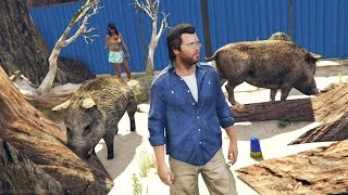 GTA 5 Real Life Mod #27 - VISITING THE ZOO & MAKING MONEY!! (GTA 5 Mods Gameplay)