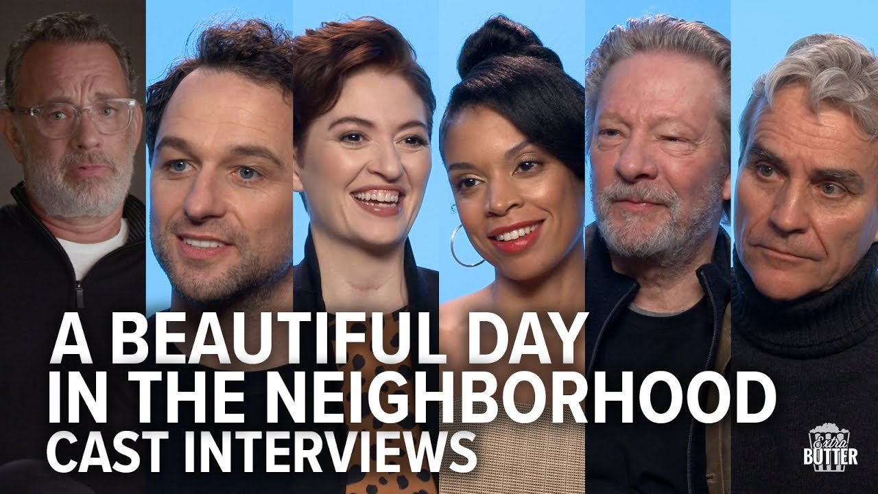 A Beautiful Day In The Neighborhood Cast Interviews Extra Butter Youtube