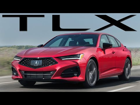 The ALL NEW 2021 Acura TLX A-Spec Review