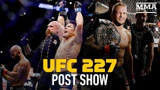 UFC 227 Post-Fight Show - MMA Fighting