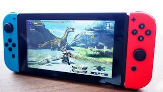 finally...we have it now【Monster Hunter XX Nintendo Switch】