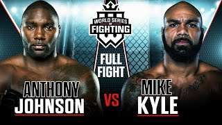 "#WSOF8: Anthony ""Rumble"" Johnson vs. Mike Kyle Full NBCSN Fight"