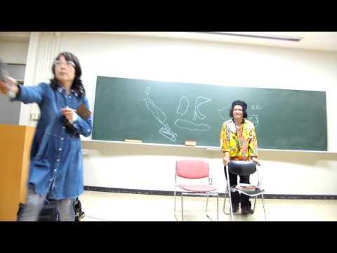 Andrea Hirata, November 13, 2014, Akita University