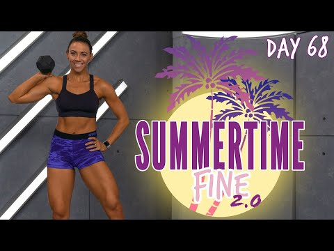 60 Minute Legs Workout | Summertime Fine 2.0 Day 68