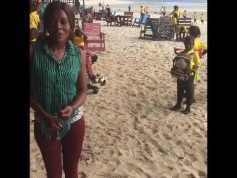 A day @ the beach in Sierra Leone