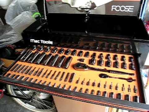 Foose MAC Tool Box from Dan - YouTube