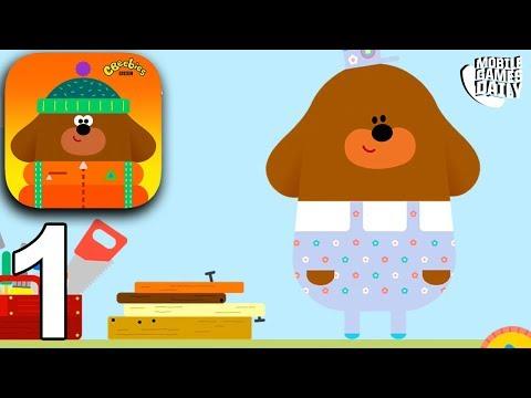 HEY DUGGEE THE EXPLORING APP - Gameplay Part 1 (iOS Android) - Games For Kids