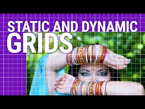 Graphic Design Tutorial: Static and Dynamic grids
