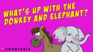 Why is the Elephant the Republican Symbol and the Donkey the Democrat Symbol?