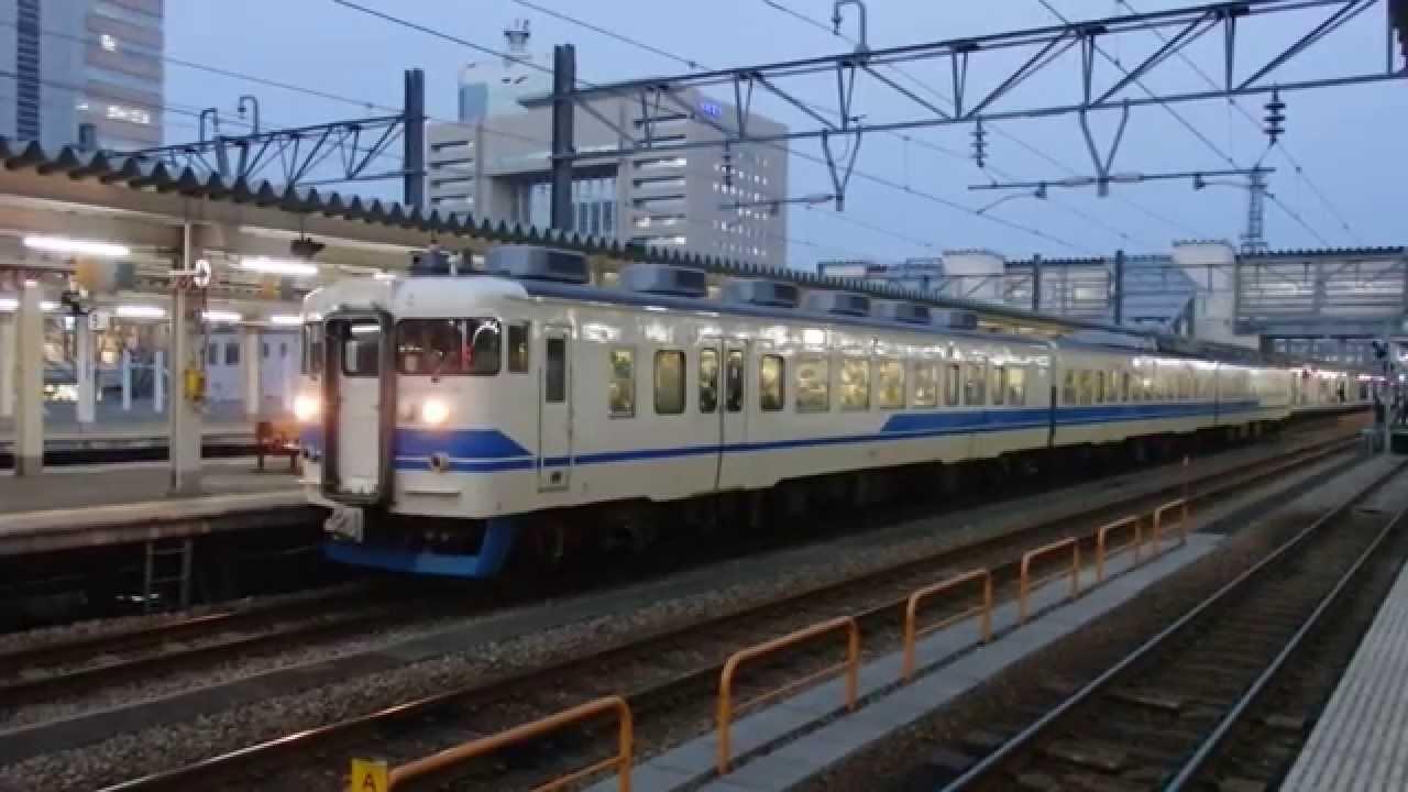 あいの風とやま鉄道521系(JRカラ...