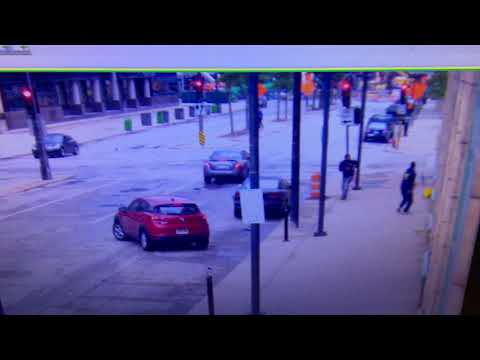 Video of shots fired at the Milwaukee Journal Sentinel