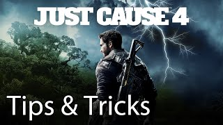 Just Cause 4 Tips & Tricks Xbox One X: Fast Movement, Grappling Abilities & Fast Travel Traversal