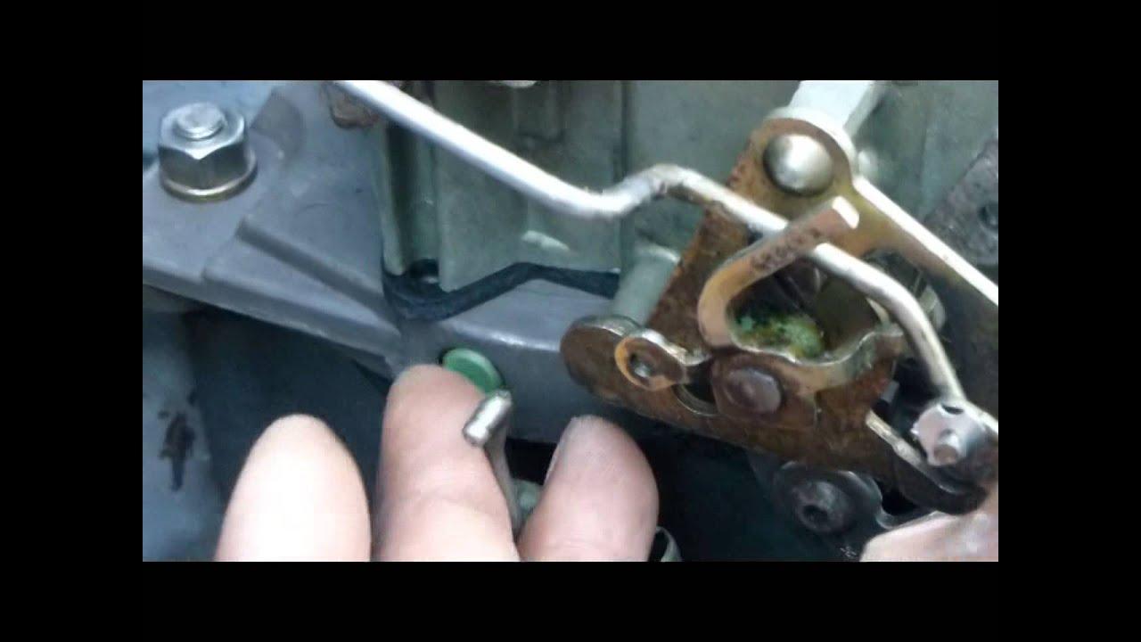 rochester quadrajet 4mv choke rod adjustment [ 1280 x 720 Pixel ]