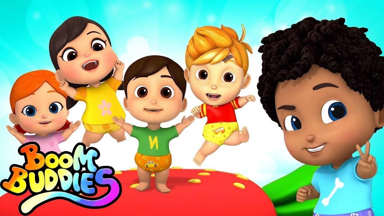 Download Five Little Babies   Baby Shark   Old Macdonald + More Nursery Rhymes & Kids Stories - Boom Buddies