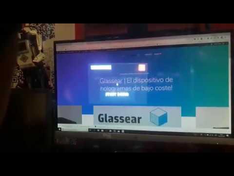 Glassear | El dispositivo de hologramas de bajo coste!