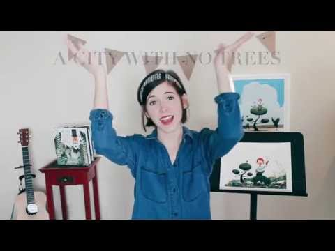 Emily Arrow - Curious Garden Song (with hand motions & lyrics!)