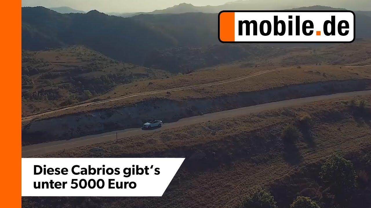 Top 5 Gebrauchte Cabrios Unter 5000 Mobilede Youtube