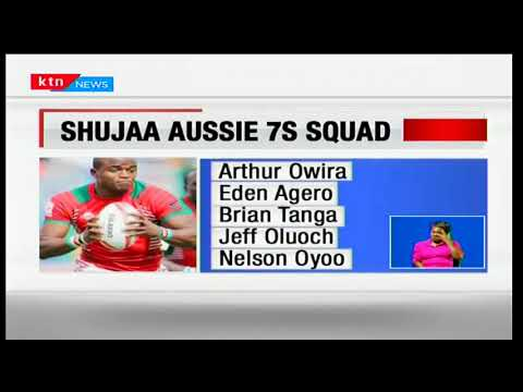 Skipper Andrew Amonde returns to the Shujaa 7's squad after a stunt of injuries