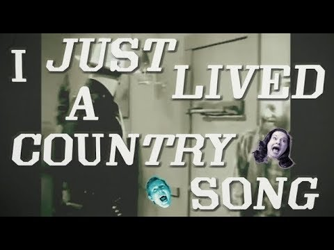 """Robbie Fulks & Linda Gail Lewis """"I Just Lived A Country Song"""" (Lyric Video)"""