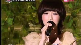 080327 Davichi - 不愛