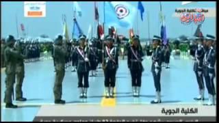 الرئيس السيسي يشهد حفل تخرج الدفعة 82 طيران وعلوم عسكرية جوية ج 7