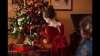 В ночном саду. Рождественская песня. Дети поют.