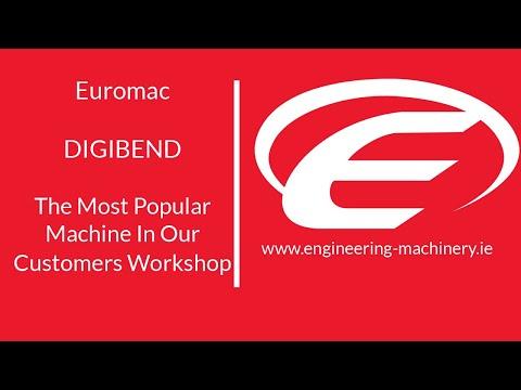 Cnc horizontal bending machine from Euromac