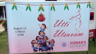 Vignan's University Utti Usthavam 12-08-2017