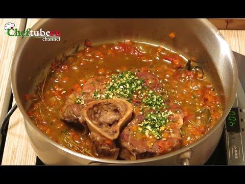 Оссобуко по-милански. Как приготовить голяшку по-итальянски, мясо, говядина, тушенная говядина.