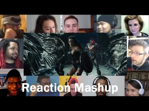 JUSTICE LEAGUE - Official Trailer 1 (2017) REACTION MASHUP