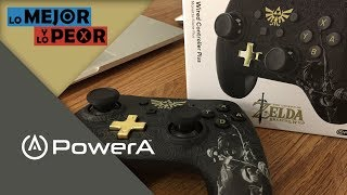Lo Mejor y Lo Peor: Nintendo Switch Wired Controller PLUS de Power A
