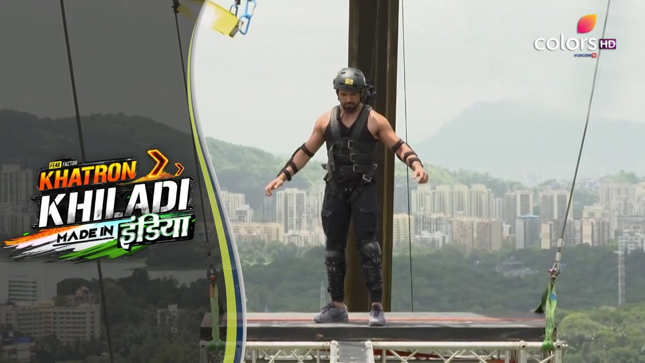 Khatron Ke Khiladi S1 Made In India   Rithivik Faces His Fear Of Heights Once Again!