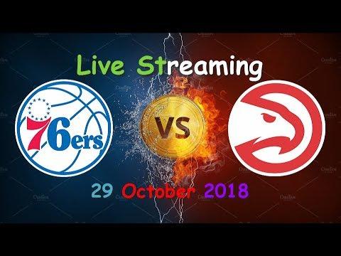 Atlanta Hawks vs Philadelphia 76ers NBA Live Stream