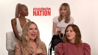 Assassination Nation Cast On The Most Hurtful Social Media Comments