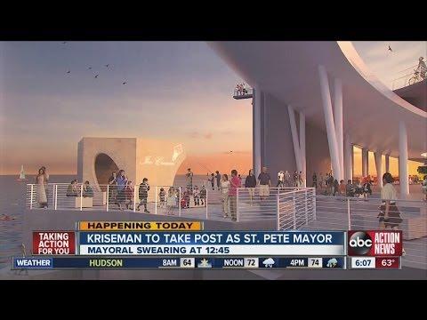 St. Petersburg mayor-elect Rick Kriseman sworn into office Thursday