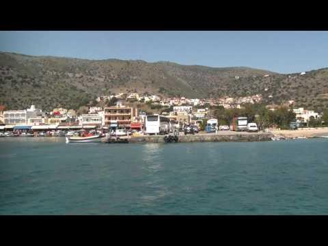 Spinalonga Harbour of Elounda Crete 2009