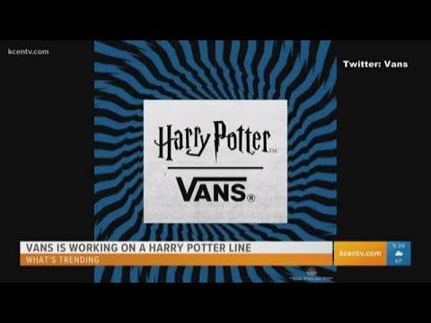 News Around The Lone Star State - FROM KCEN - Vans rolls out Harry Potter line. Here's what's trending