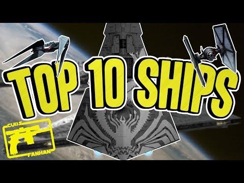 SWGOH : Top 10 Ships (April)