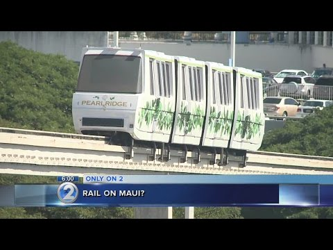 Maui mayor contemplates rail, envisions more Disneyland than Honolulu