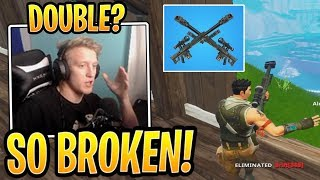 Tfue Explains Why the *NEW* Heavy Sniper is BROKEN! - Fortnite Best and Funny Moments