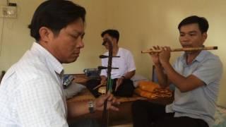 Điệu xuân nữ - đàn nhị, sáo, trống tại Pakse Lào