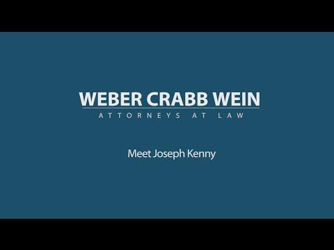 Meet Joseph Kenny: Weber Crabb and Wein St. Petersburg Attorneys
