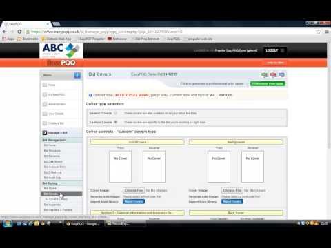 EasyPQQ -   Create a Bid & Manage a Bid