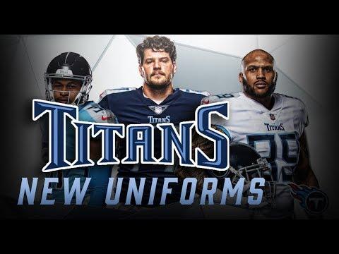 Titans Unveil New Uniforms - YouTube 6382e40d9