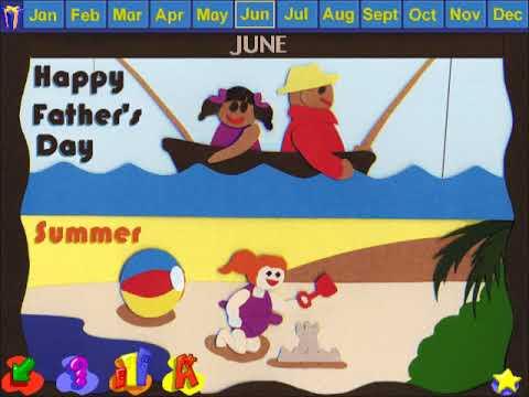 JumpStart Kindergarten (1998) - Game Intro - YouTube