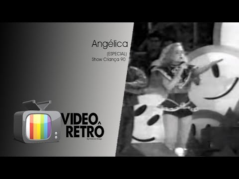 Angélica  Trechos do especial CRIANÇA 90  Video Retrô