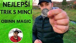 Nejlepší Kouzlo S Penězi //TRIK S MINCÍ// By Obinn Magic - Nechte Minci Zmizet